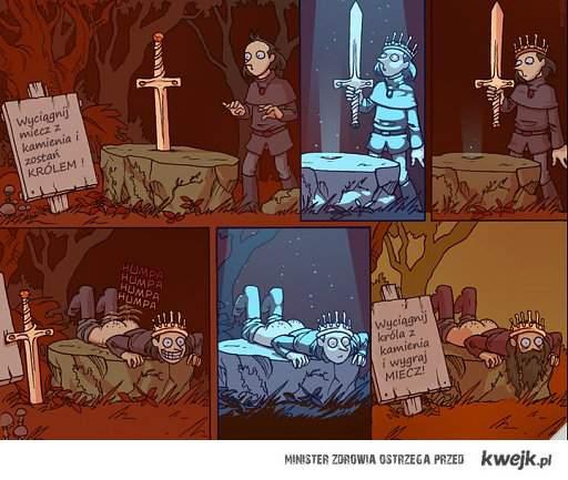 król artur i excalibur