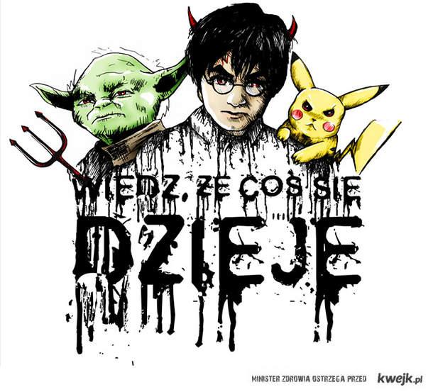 Joda Potter i Pokemon cos sie dzieje