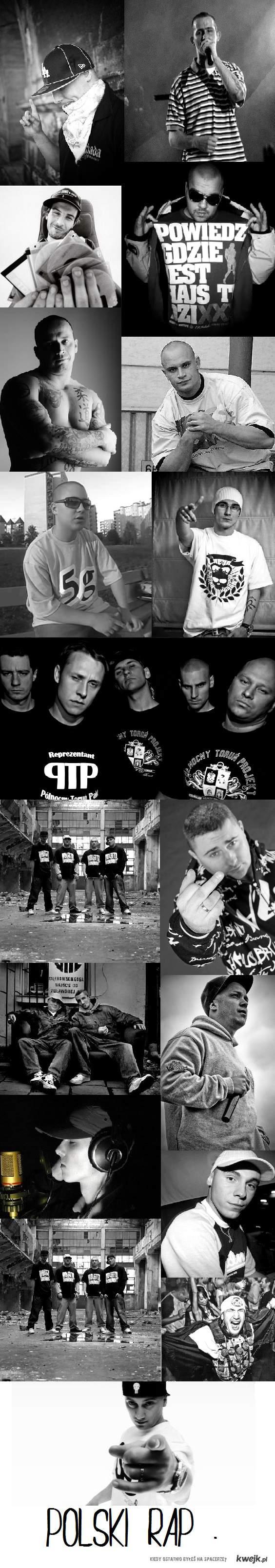 Polski rap .