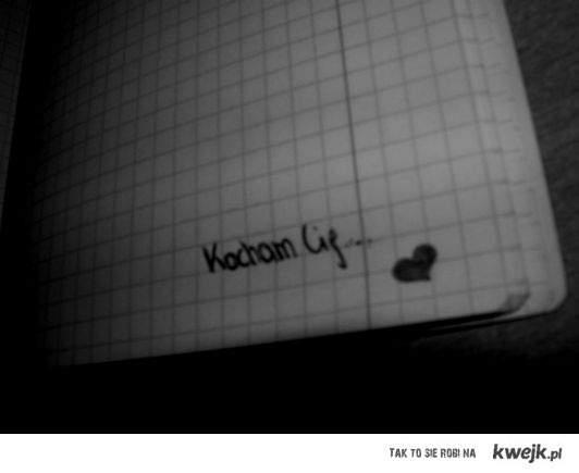 kocham cię.