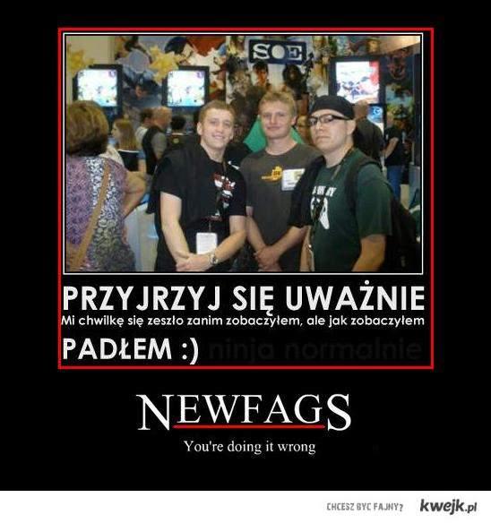 Gimnazjalista=Newfag?