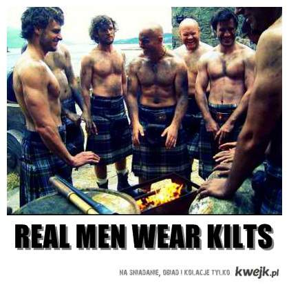 kilts are sexy