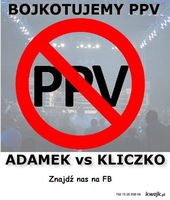 adamek - kliczko PPV