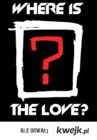 BLACK EYED PEAS WHERE IS THE LOVE ?