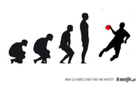 ewolucja - Handball
