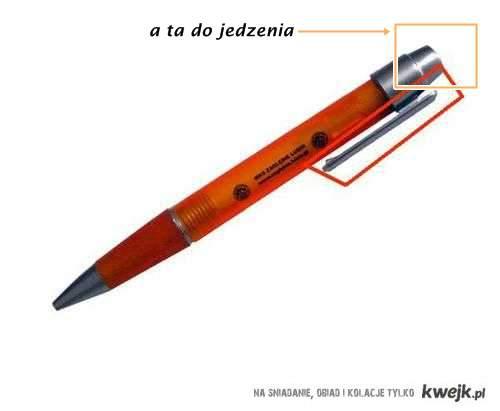 długopisy :D