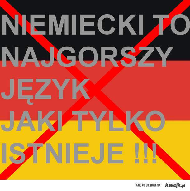 niemiecki ;\