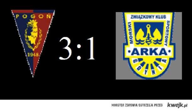 Pogoń Szczecin  vs  Arka Gdynia