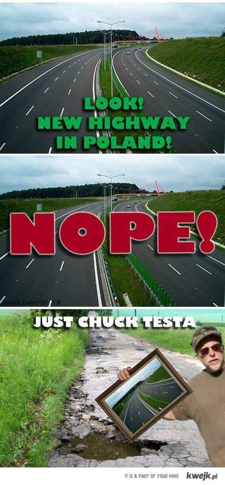 chuck tesla autostrada Tomaszeeek