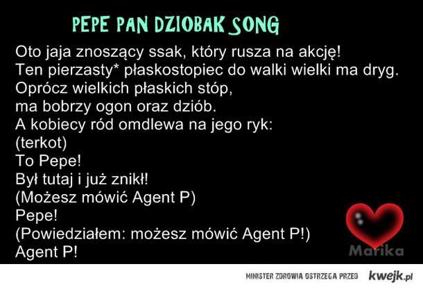 Pepe Pan Dziobak SONG!