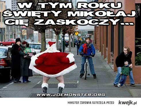Mikołaj Cię zaskoczy!