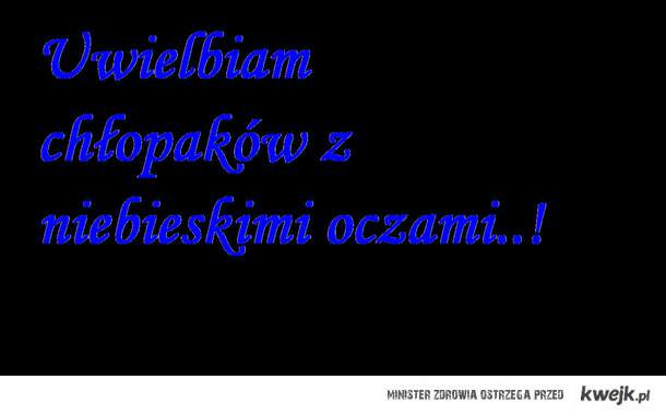 Niebieskie mm..