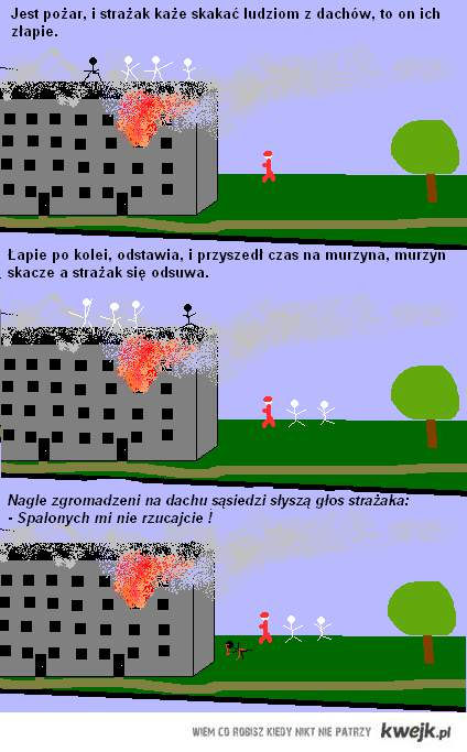 spalony murzyn xD