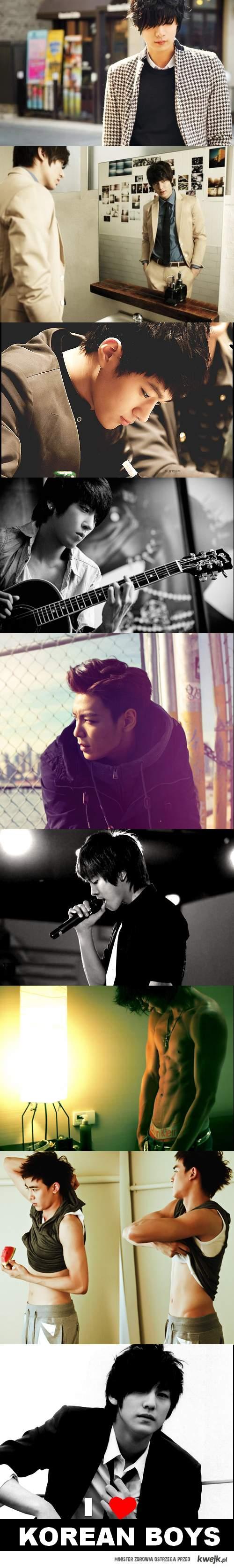 Jarają mnie koreańscy chłopcy. ♥