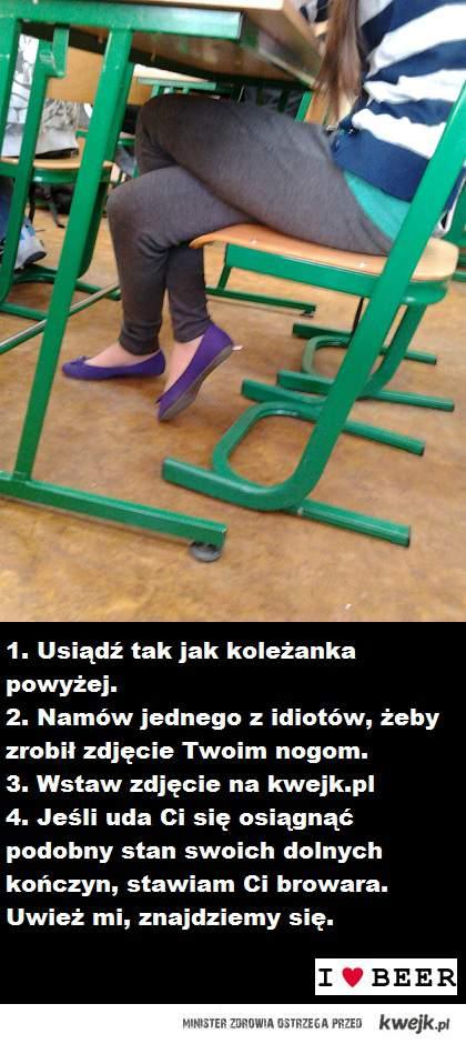 Gumowe nogi