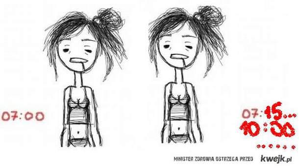 kobieta vs poranek 2