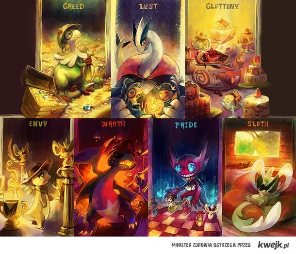 7 grzechów głównych