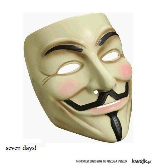 seven days!