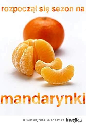 sezon na mandarynki!
