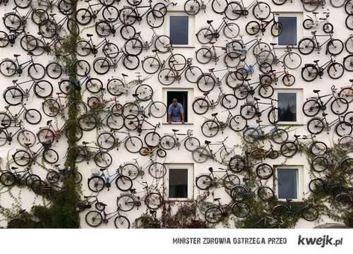 rowerowy blok
