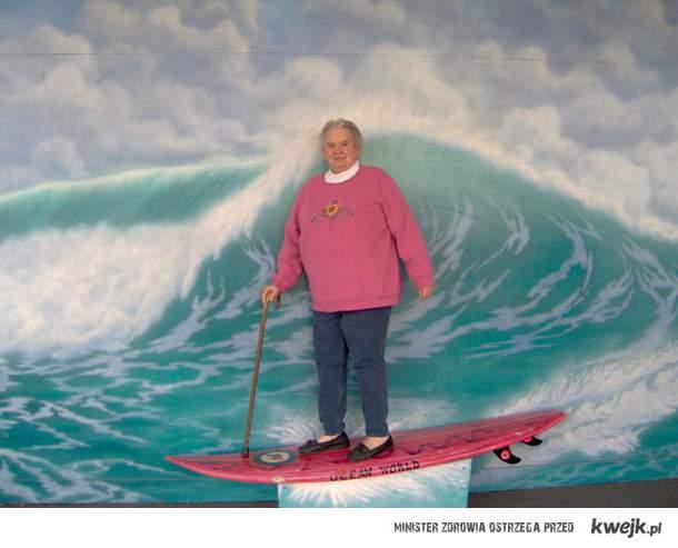 Bongo na surfingu