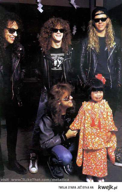 Metallica - so metal that they make children cry
