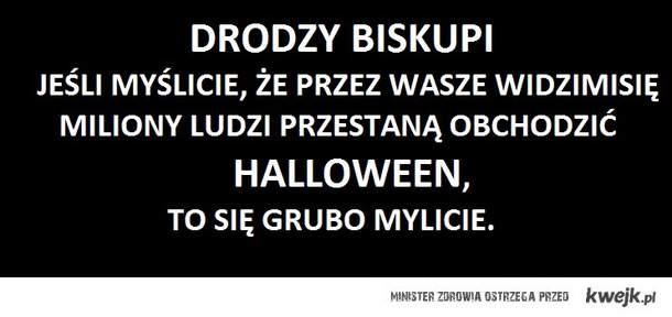 Biskupi zakazali obchodzenia Halloween