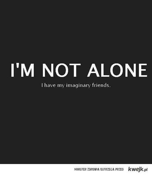 nie jestem sam.