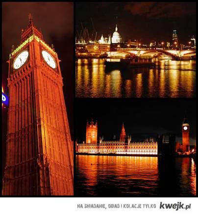londyn nocą <3