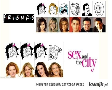 Friends vs Sex and the city