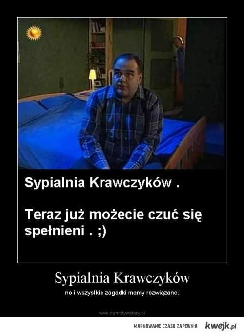 kolejna zagadka sypialnia Krawczyków rozwiązana :)