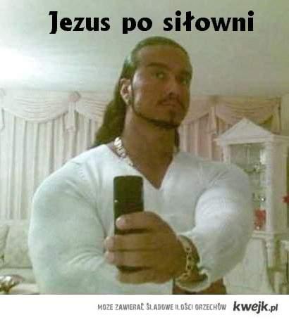 Jezus po siłowni