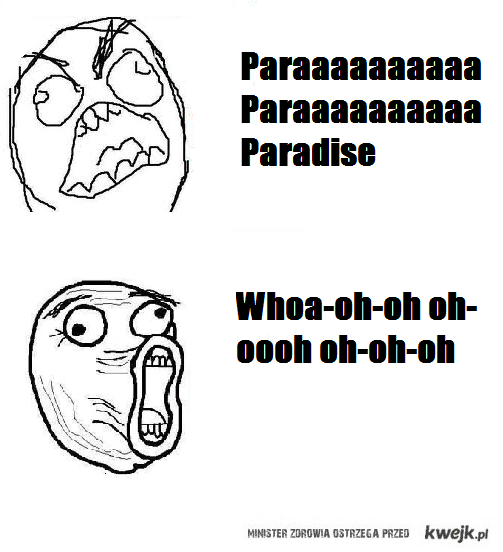 paraaaaaa paradise !