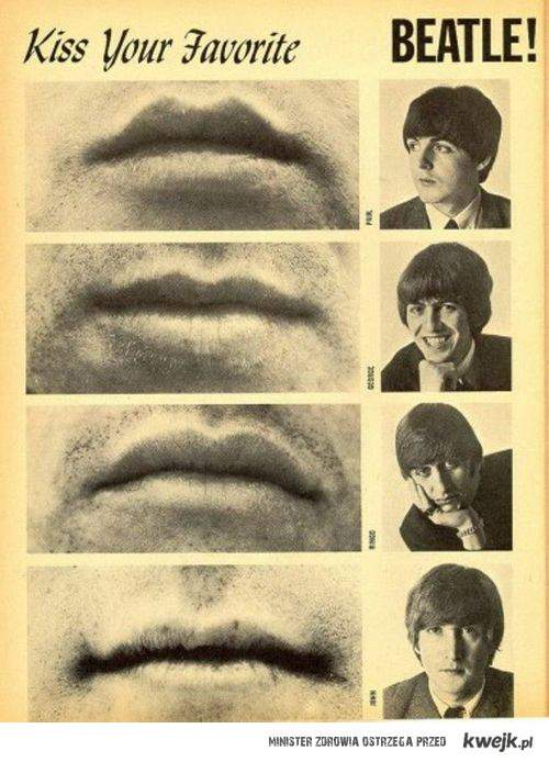Całuj Beatlesa!