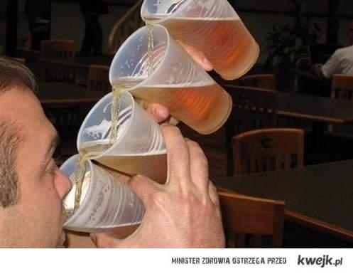 Tak sie to pije !
