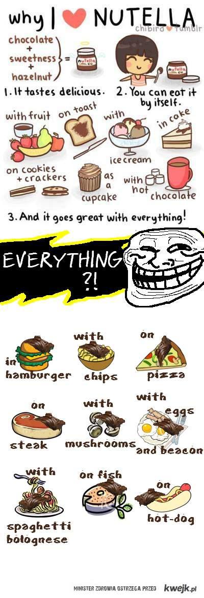 Nutella NIE pasuje do wszystkiego