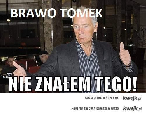 Brawo Tomek !!!