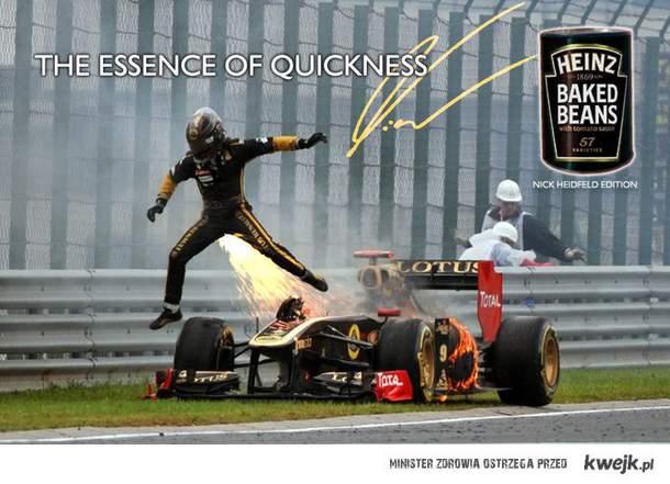 A tym czasem w F1 ... xD