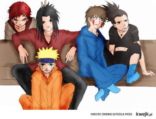 Naruto boys. ♥