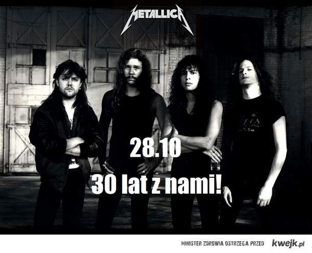 30 urodziny Metallici!