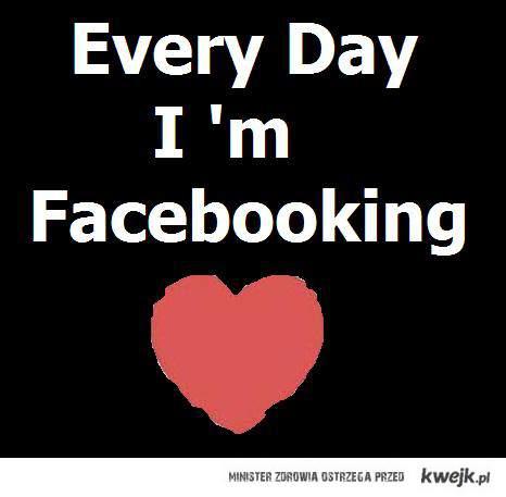 Facebooking ♥ ♥ .!