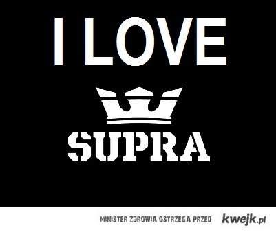 I Love Supra Footwear