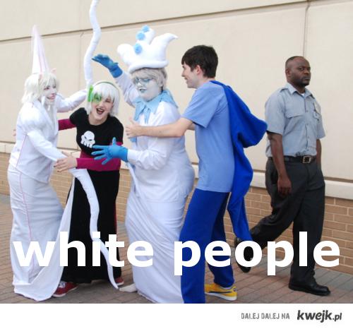 biali ludzie