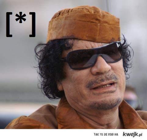 kaddafi dead