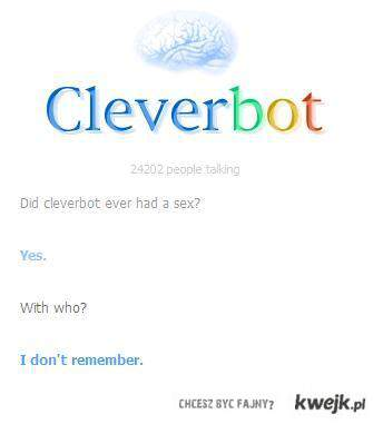 Cleverbot, baba do gadania.