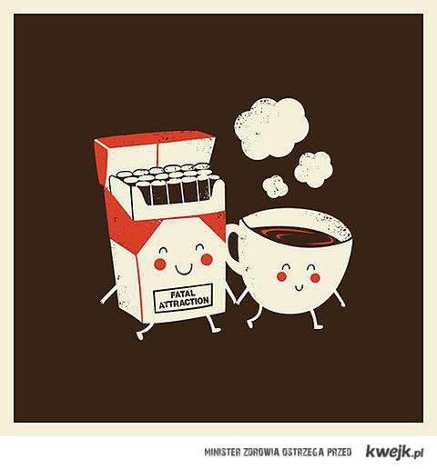 kawa i fajki