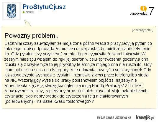 Poważny problem