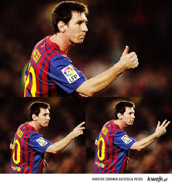 Hat Trick Messi <3