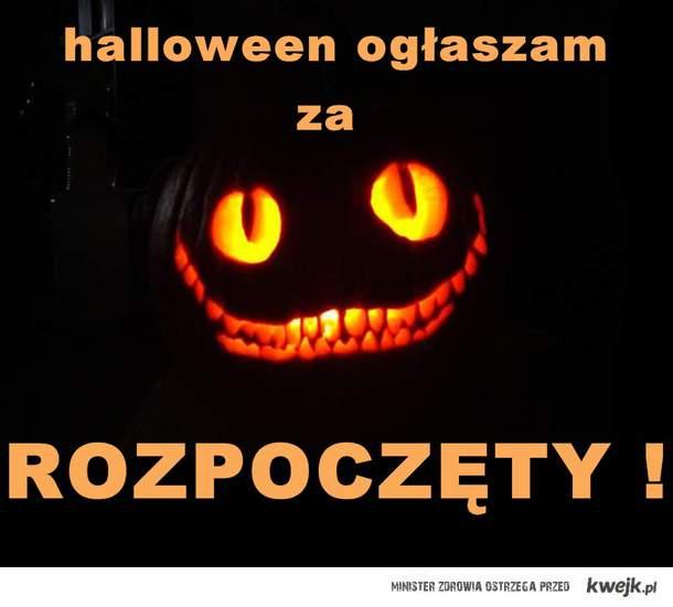halloween rozpoczęty!