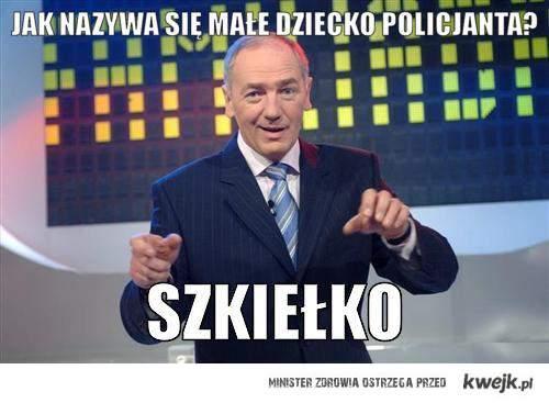 dziecko policjanta